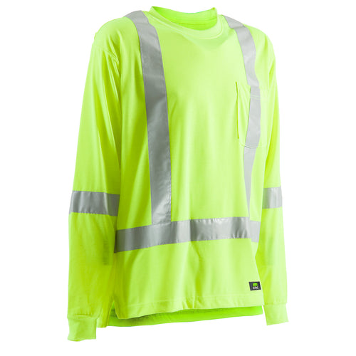 Hi-Vis Type R Class 3 Long Sleeve Pocket Tee