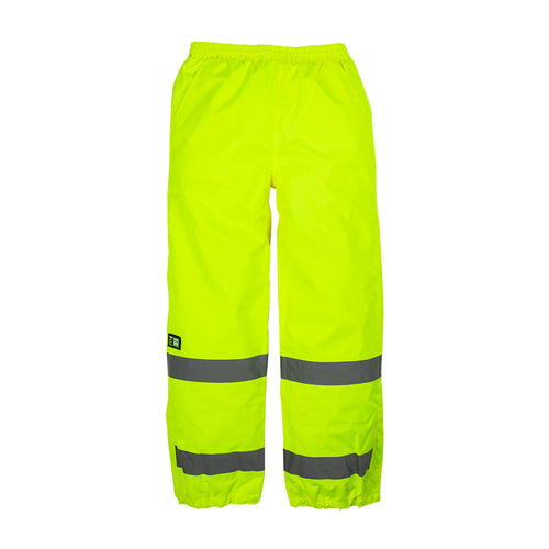 Hi-Vis Class E Waterproof Safety Pant