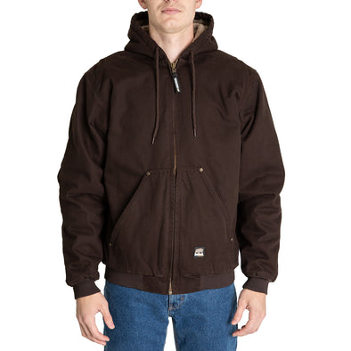 High Country Sherpa Lined Hooded Jacket