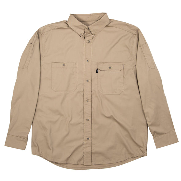 Utility Lightweight Canvas Shirt