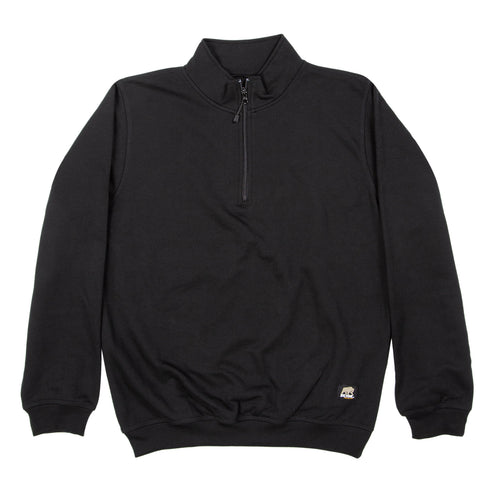 Unlined Quarter Zip Sweatshirt
