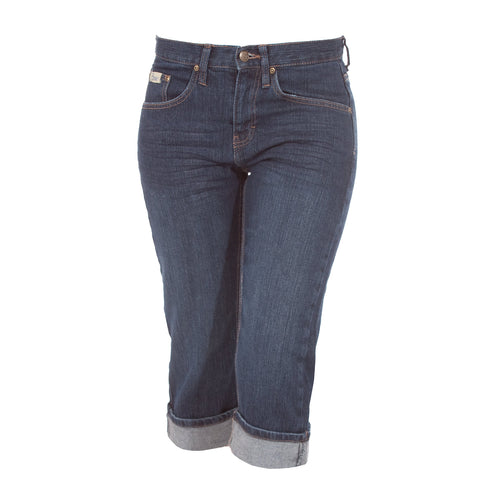 Ladies Vintage Denim Capri