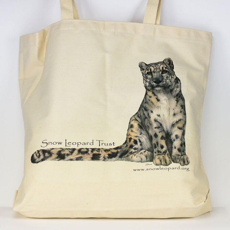 Featured Item of the Week - Snow Leopard Tote