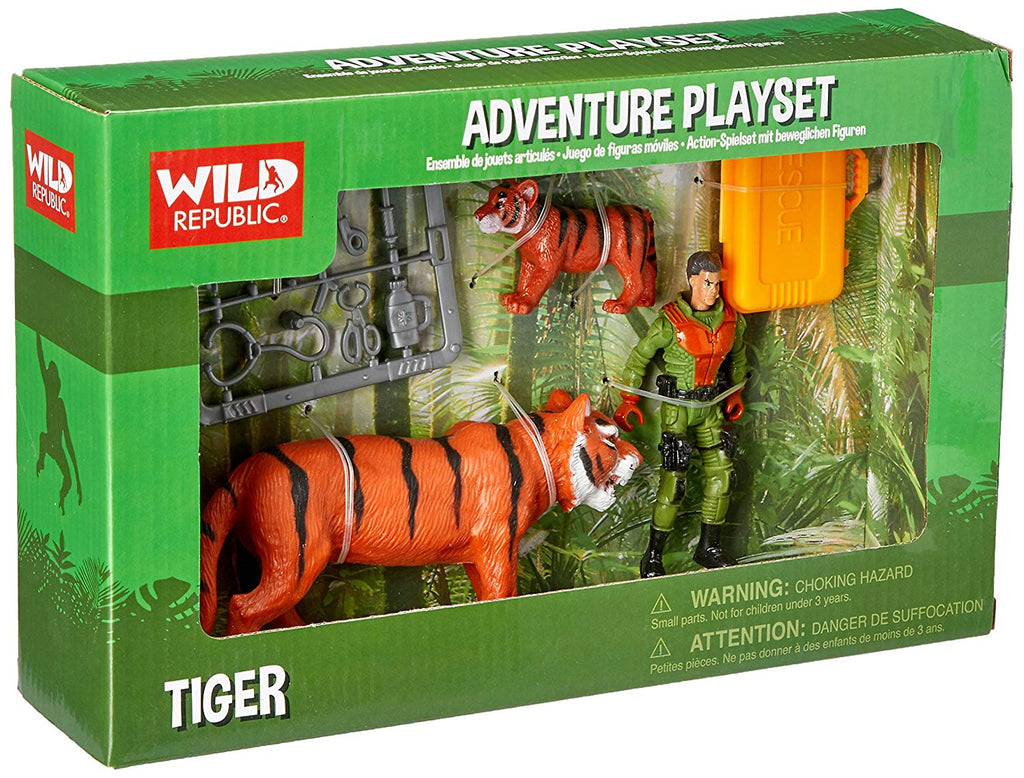 Tiger Adventure Playset