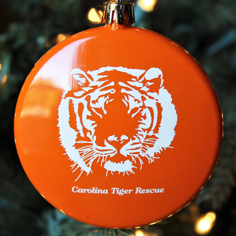 Orange Bauble Ornament