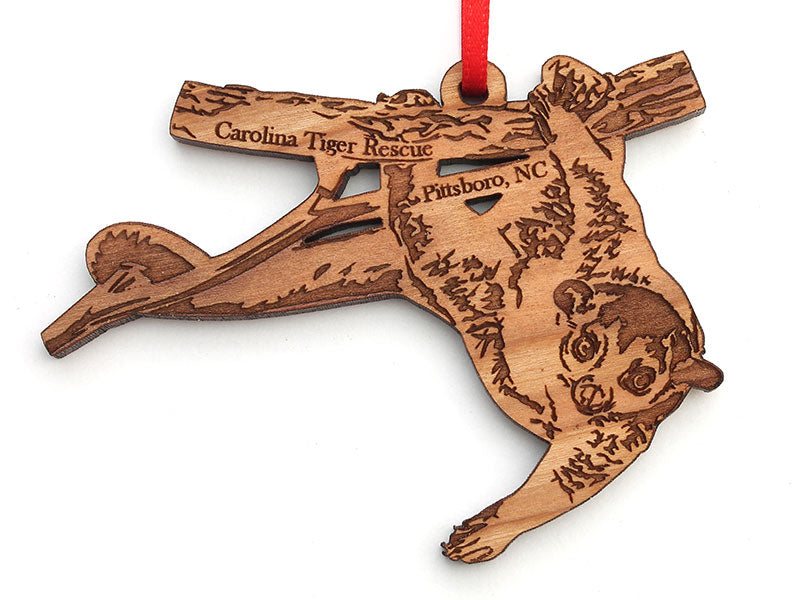 Wooden Ornament - Kinkajou