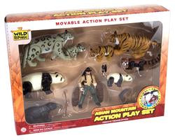 Asian Moveable Playset