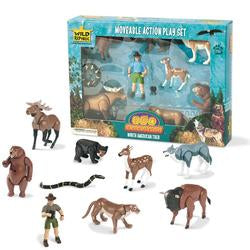 North American Moveable Playset
