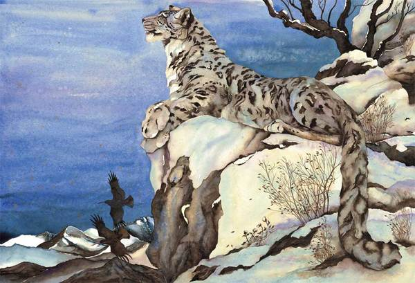 """The Snow Leopard"" Book"