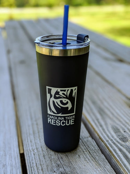 Logo Tumbler with Straw