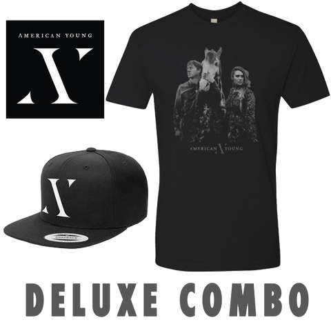 Autographed CD, Hat & Face T-Shirt Combo Pre-Order