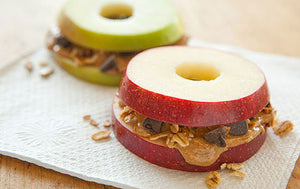 Apple Almond Butter Snack
