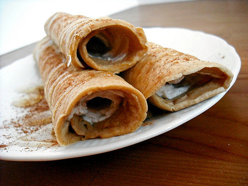 Crepes with Peanut Butter