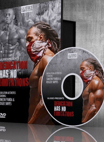 Ulisses Jr DVD – Dedication Has No Limits.