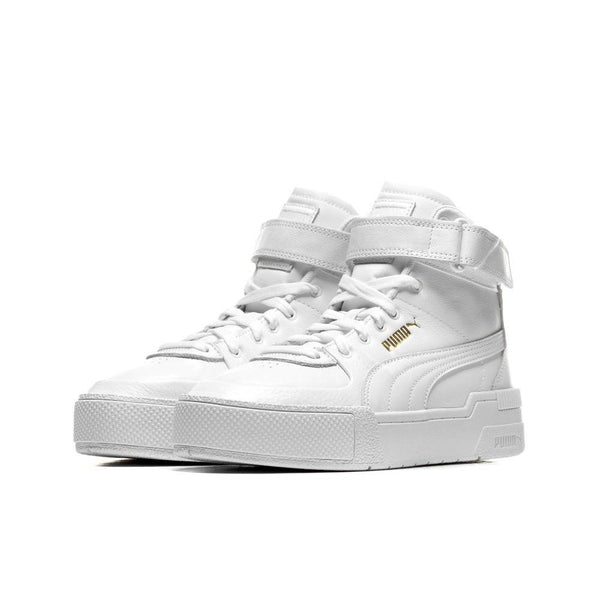 Puma Cali Sport Top Warm Up White