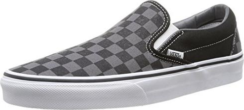 Vans Classic Slip-On Black/Pewter Checkerboard