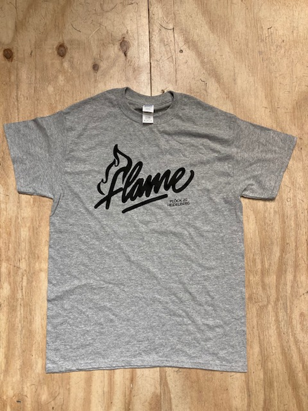 The Flame T-Shirt Grey