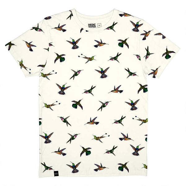 Dedicated T-Shirt Hummingbirds Off-White