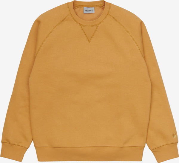 Carhartt Chase Sweat Winter Sun/Gold