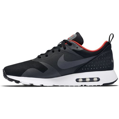NIKE AIR MAX TAVAS BLACK/DARK GREY-TTL CRMSN-WHT