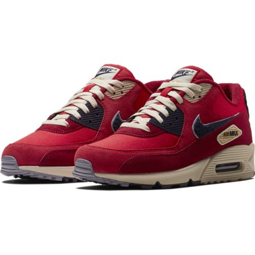 Nike Air Max 90 Premium SE Shoe UNIVERSITY RED/PROVENCE PURPLE