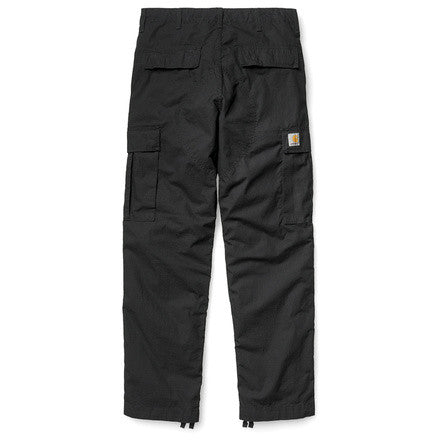 Carhartt Regular Cargo Pant Columbia Cotton Ripstop 6,5 Oz Black Rinsed