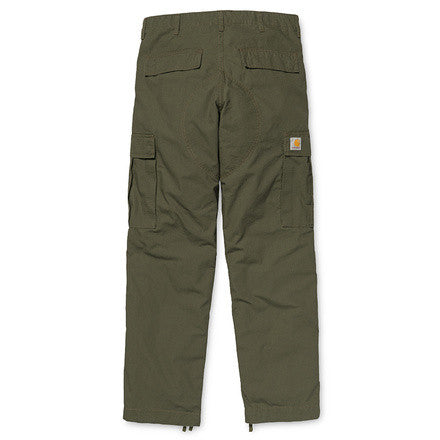 Carhartt Regular Cargo Pant Columbia Cotton Ripstop 6,5 Oz Moss Rinsed