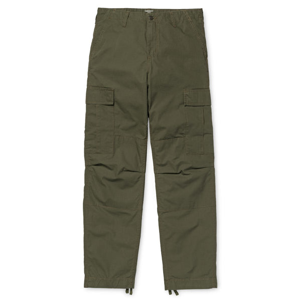 Carhartt WIP Regular Cargo Pant Columbia Cotton Ripstop 6,5 Oz Cypress Rinsed