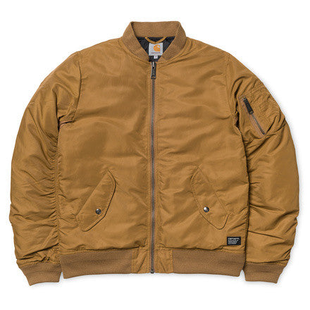 Carhartt Ashton Bomber Jacket Hamilton Brown