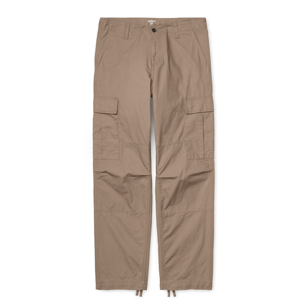 Carhartt Regular Cargo Pant Columbia Cotton Ripstop 6,5 Oz Leather Rinsed