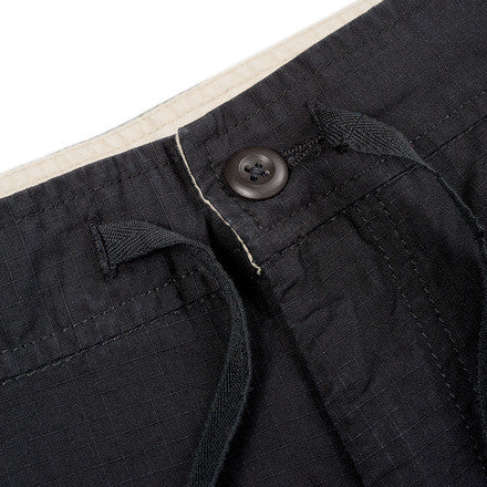 Carhartt Marshall Jogger Columbia Cotton Ripstop 6.5 Oz Blk rinsed
