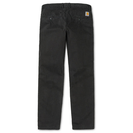 Johnson Pant Midvale Cotton Twill 7 Oz Black Garment dyed