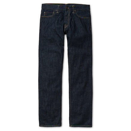 Carhartt WIP Oakland Pant Edgewood Cotton Blue Denim 12 Oz Blue rinsed