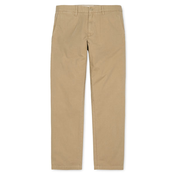 Carhartt WIP Johnson  Pant Midvale Cotton Twill 7 Oz Leather