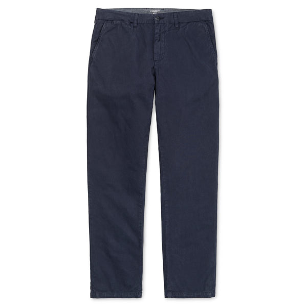 Carhartt WIP Johnson Pant Kingsville Cotton Twill 7 Oz Dark Navy