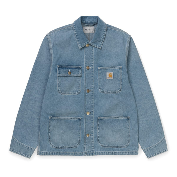 Carhartt WIP  Michigan Chore Coat Blue Light True Stone