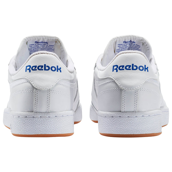 REEBOK CLUB C 85 Wht/royal/gum