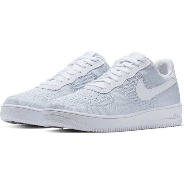 Nike Air Force 1 Flyknit 2.0 / White/Pure Platinum