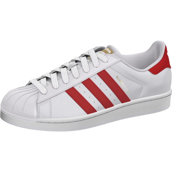 Adidas Superstar Foundation White Red