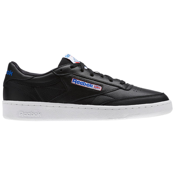 REEBOK CLUB C 85 SO BLACK/WHITE/VITAL BLUE
