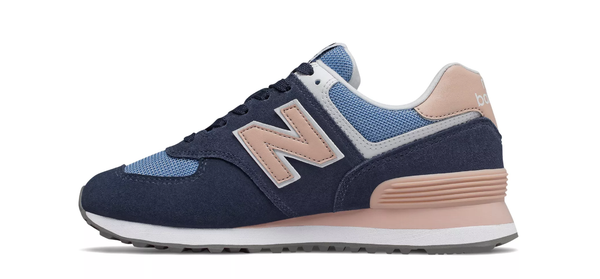 New Balance / WL574WND - Navy/Pink