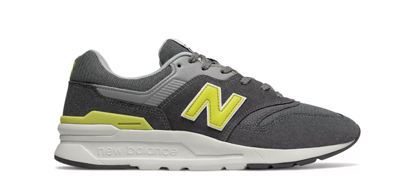 New Balance / CM997HDJ - Grey/Yellow