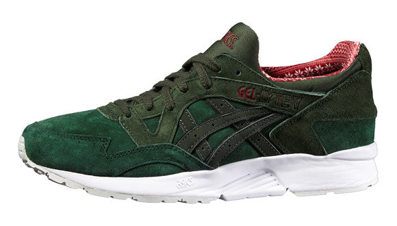 "Asics GEL-LYTE V "" X-MAS PACK "" DARK GREEN/DUFFLE BAG"
