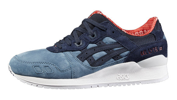 "Asics GEL-LYTE III "" X-MAS PACK "" BLUE MIRAGE/INDIA INK"