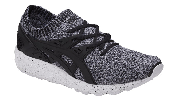 ASICS GEL-KAYANO TRAINER KNIT WHITE/BLACK