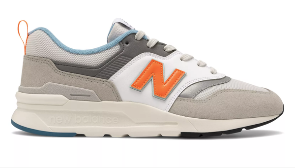 New Balance CM997HAG / White/Grey/Orange