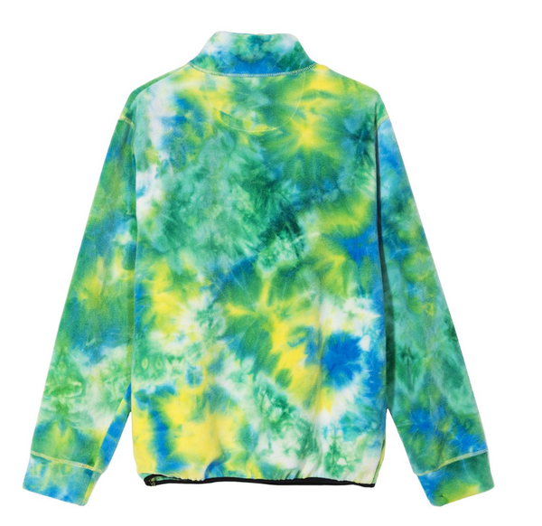 Stüssy Polar Fleece Mock Neck / tie dye