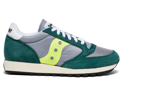 Saucony - Jazz Original Vintage / Green/Grey/Neon