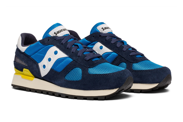 Saucony - Shadow original Vintage / Navy-Blue-Yellow