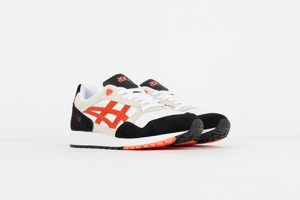 Asics GELSAGA White/Flash Coral